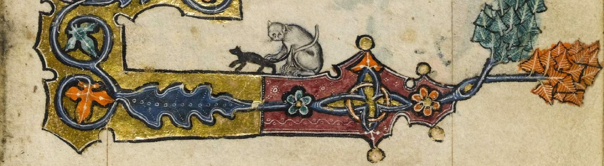 The cats of the Macclesfield Psalter