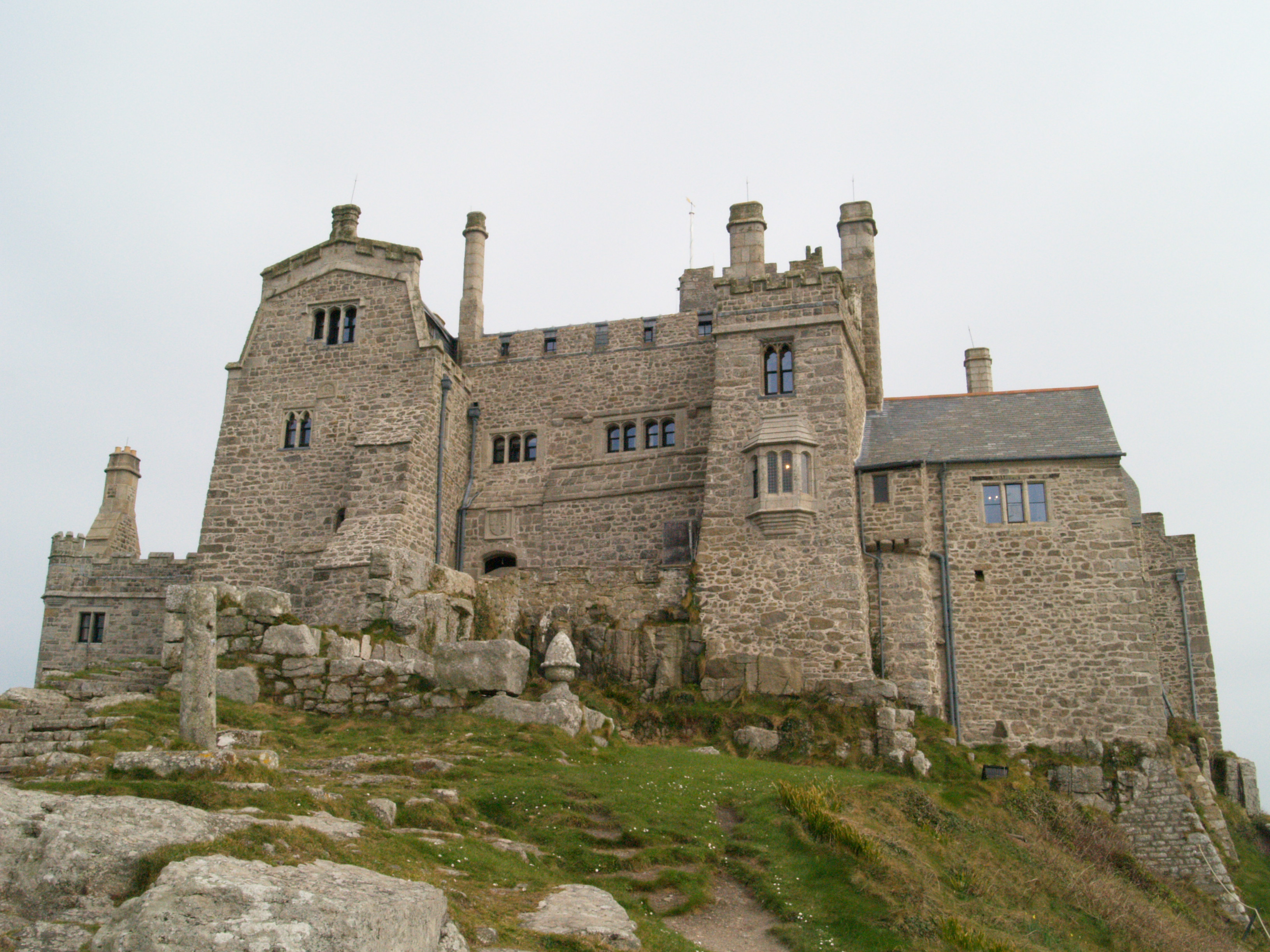 St Michael's Mount on St Piran's Day
