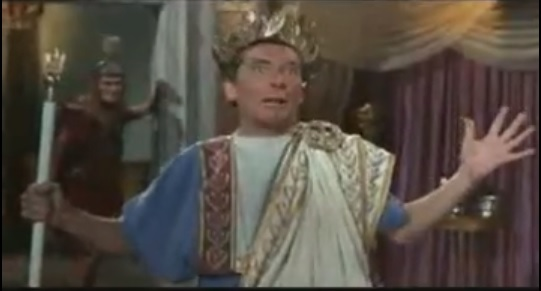 Kenneth Williams in Carry on Cleo