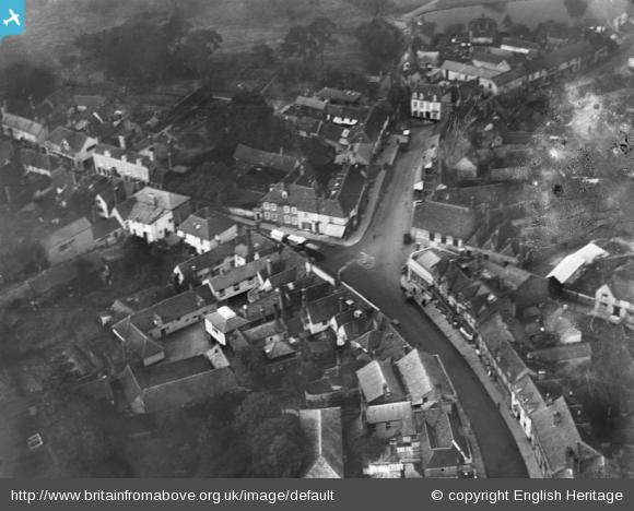 Great Dunmow from the air, 1928