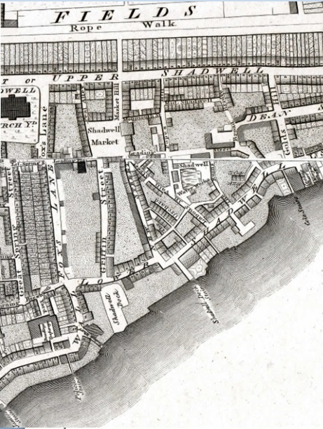 Horwood Map of London 1792-99