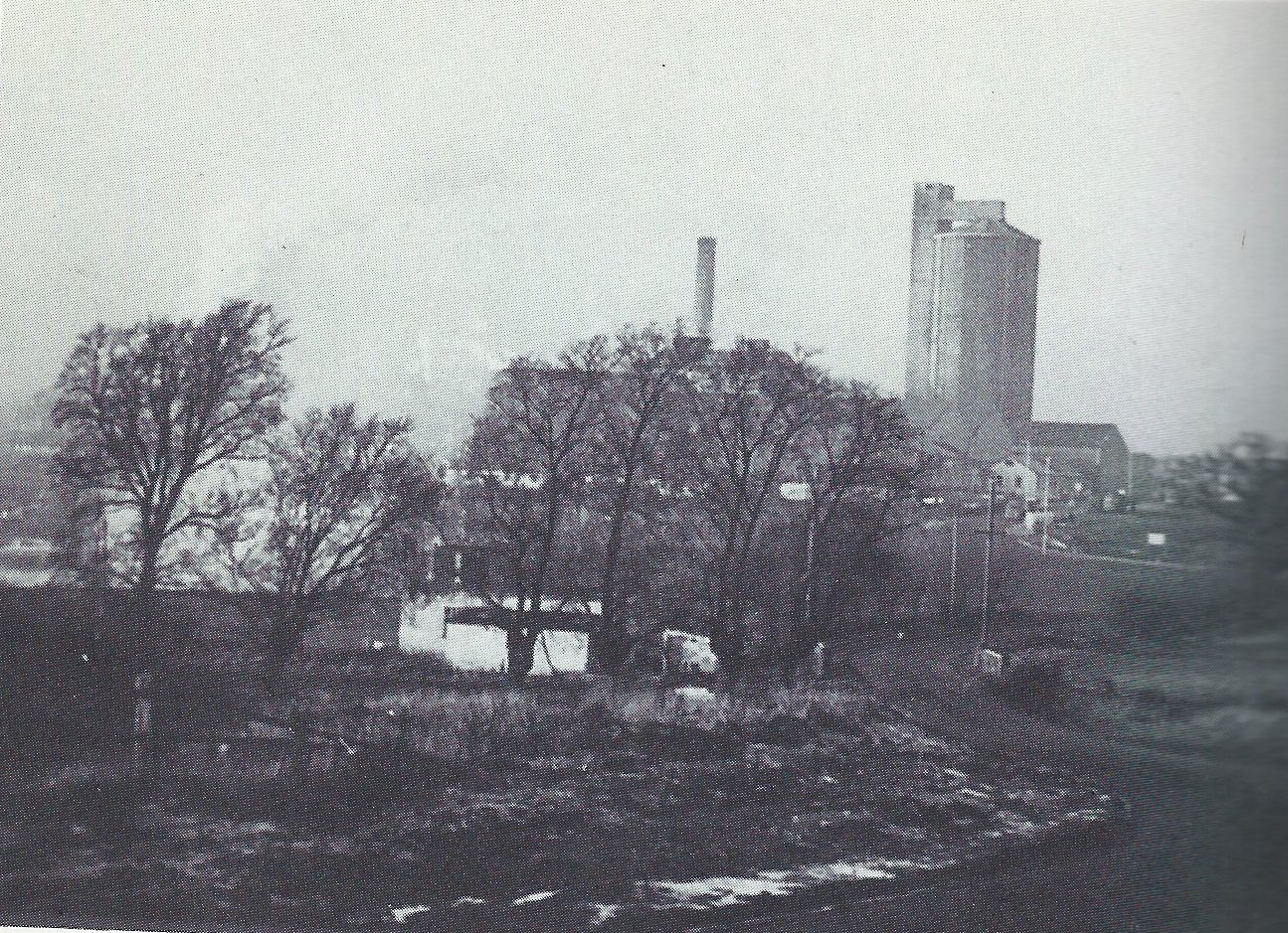 Sugar Beet Factory, Little Dunmow, 1976