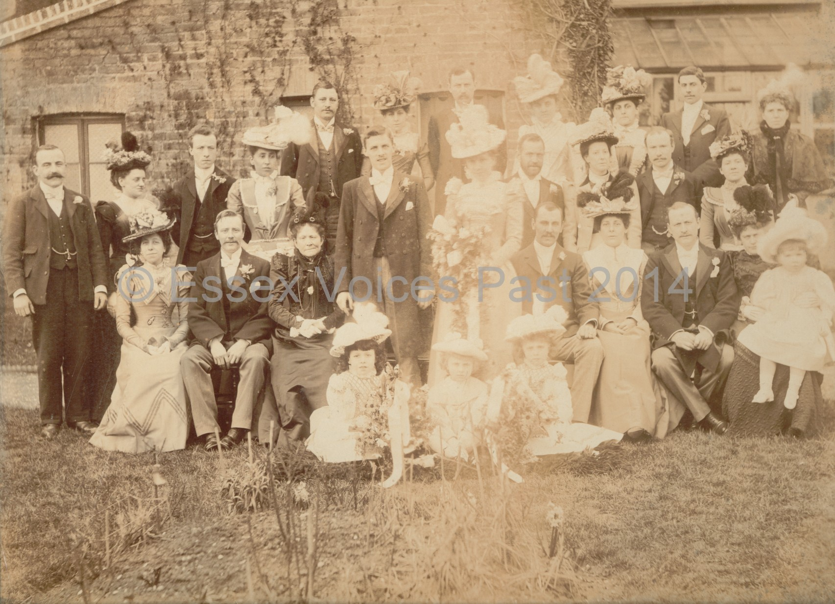 1899 Marriage of Lily Gurney to John Gurney