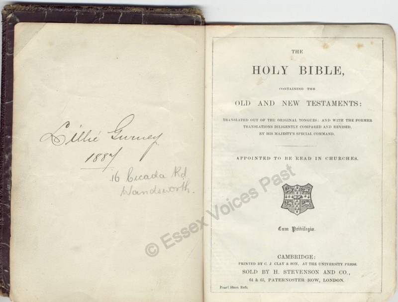Lilly Gurney's bible