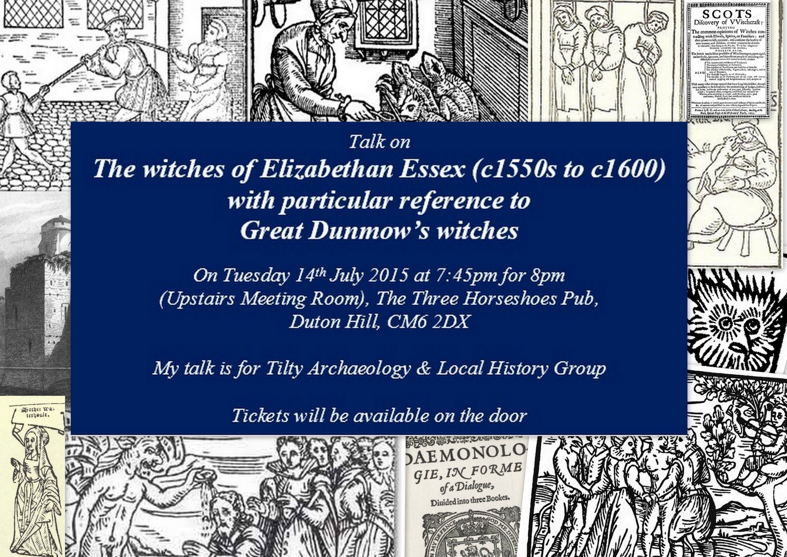 Talk on Essex Witches